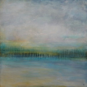 (CreativeWork) Endless Sea by helene hardy. arcylic-painting. Shop online at Bluethumb.