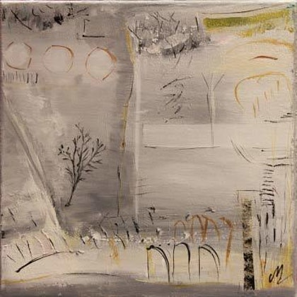 (CreativeWork) Silence and Stones #1 by Christine Maudy. mixed-media. Shop online at Bluethumb.