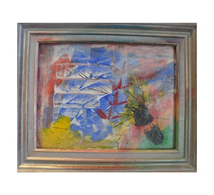 (CreativeWork) Framed Footprints  by Pouya Bagheri. arcylic-painting. Shop online at Bluethumb.