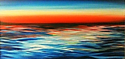 (CreativeWork) Hello Glorious Morning by Matilda Driscoll. arcylic-painting. Shop online at Bluethumb.