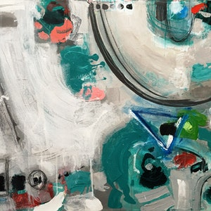 (CreativeWork) Abstract Day by David White. acrylic-painting. Shop online at Bluethumb.