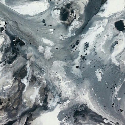 Seascape in Shades of Grey