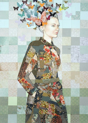 (CreativeWork) Freedom of Thought by Leah Mariani. Mixed Media. Shop online at Bluethumb.