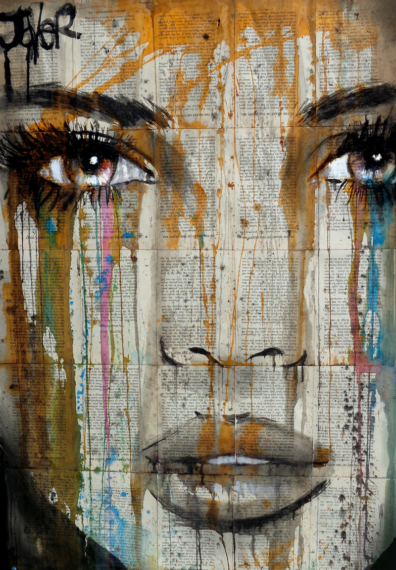(CreativeWork) AMONGST IT ALL by loui jover. mixed-media. Shop online at Bluethumb.