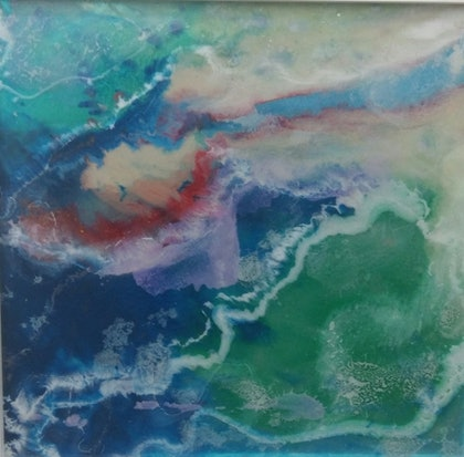 (CreativeWork) Reef by Leigh Fagerlund-Quin. resin. Shop online at Bluethumb.