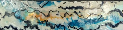 (CreativeWork) Ascending  by Leigh Fagerlund-Quin. resin. Shop online at Bluethumb.
