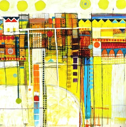 """(CreativeWork) """"Always with you"""" by David Spencer. Mixed Media. Shop online at Bluethumb."""