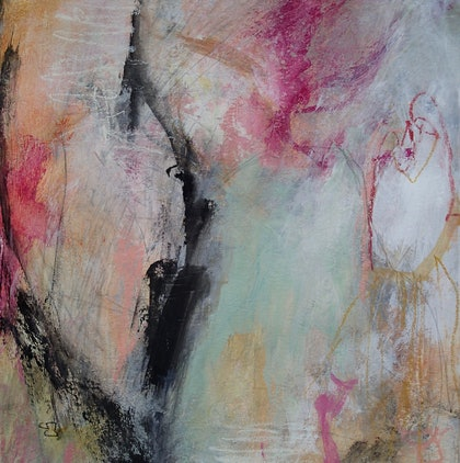 (CreativeWork) The Wish by Christine Scurr. arcylic-painting. Shop online at Bluethumb.