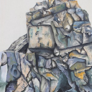 (CreativeWork) Cabarita Beach  Formation #1 by Dylan Cooper. mixed-media. Shop online at Bluethumb.