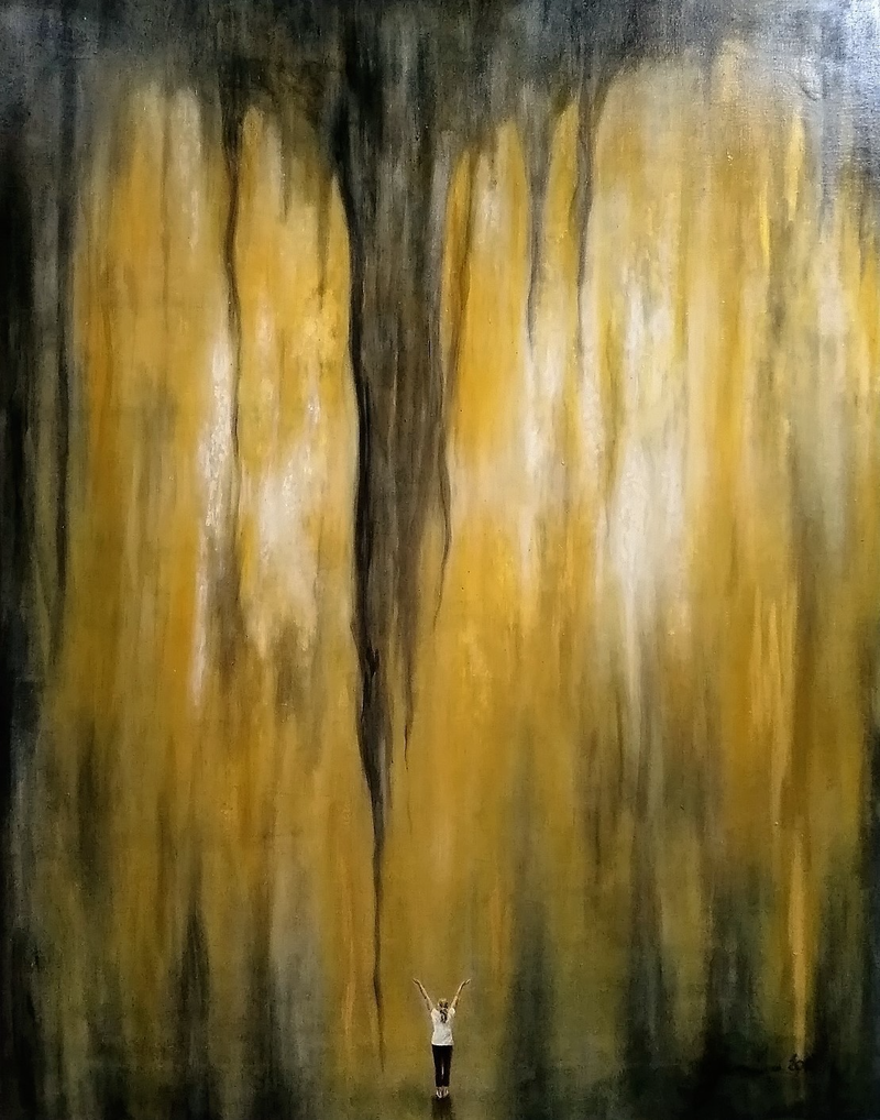 (CreativeWork) Alive by Jodie Price. arcylic-painting. Shop online at Bluethumb.