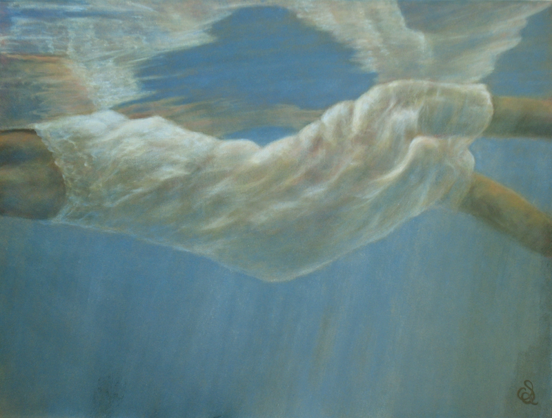 (CreativeWork) Lost, Almost by Catherine Stringer. oil-painting. Shop online at Bluethumb.