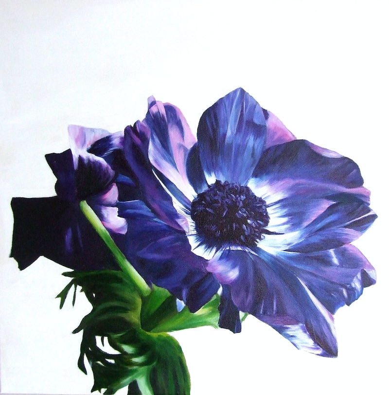 (CreativeWork) Bloom by Freya Powell. acrylic-painting. Shop online at Bluethumb.