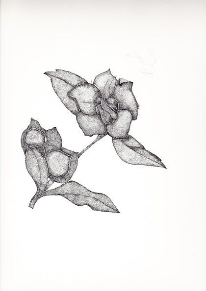 (CreativeWork) Hellabour by Kim Bagot-Hiller. drawing. Shop online at Bluethumb.