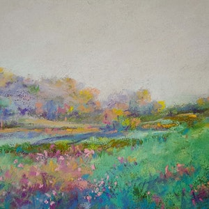 (CreativeWork) Dusk by Helen Miles. Other Media. Shop online at Bluethumb.