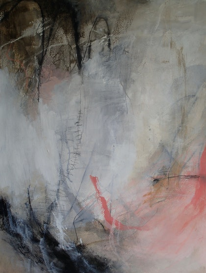 (CreativeWork) Mending Scars by Christine Scurr. arcylic-painting. Shop online at Bluethumb.