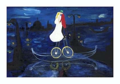 (CreativeWork) The Venice Wedding by Tony King. resin. Shop online at Bluethumb.