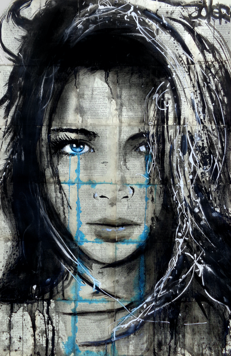 (CreativeWork) SOME DAYS by loui jover. mixed-media. Shop online at Bluethumb.