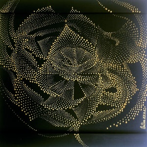 (CreativeWork) Gateway Aperture by Milica ZZAA. arcylic-painting. Shop online at Bluethumb.