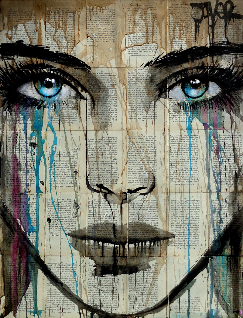 (CreativeWork) EFFECT by loui jover. mixed-media. Shop online at Bluethumb.