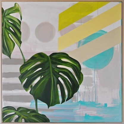(CreativeWork) Monstera Moment by Tamara Armstrong. #<Filter:0x00007f92ed066710>. Shop online at Bluethumb.