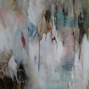 (CreativeWork) Winter Light by Christine Scurr. arcylic-painting. Shop online at Bluethumb.
