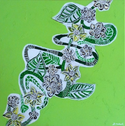 (CreativeWork) TROPICAL LIME by Deryal mehmet. mixed-media. Shop online at Bluethumb.