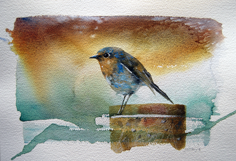 (CreativeWork) Quiet reflection by Trevor Salisbury. watercolour. Shop online at Bluethumb.