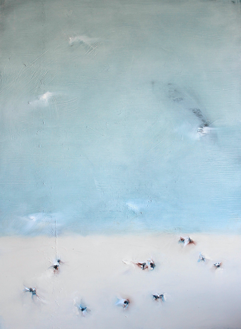 (CreativeWork) Bondi Desert V by Nicole Maguire. oil-painting. Shop online at Bluethumb.