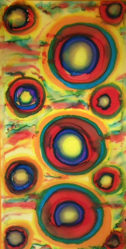 (CreativeWork) EARTHLY CIRCLES by Binny Wiltshire. other-media. Shop online at Bluethumb.