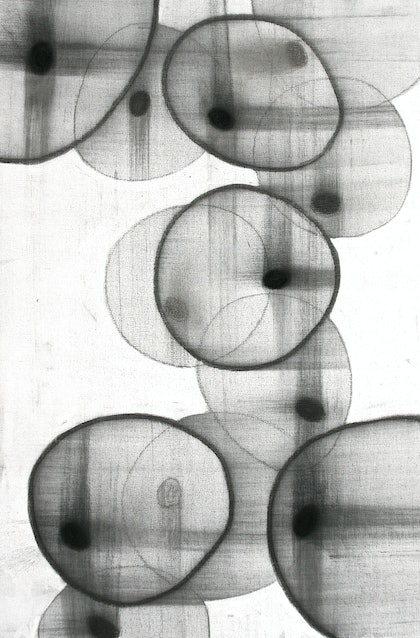 (CreativeWork) Floating Cells by Sonja Parsonage. drawing. Shop online at Bluethumb.