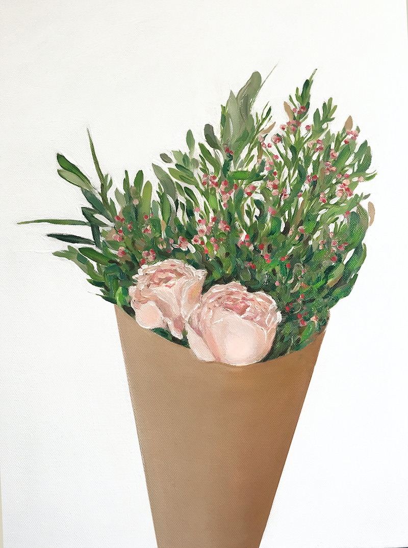 (CreativeWork) Fresh Flowers 1  by Donna Christie. #<Filter:0x000055a8c030f250>. Shop online at Bluethumb.