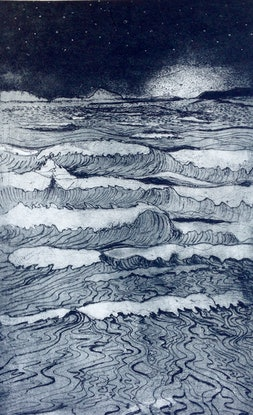 (CreativeWork) Incoming tide 2 by Jet James. Other Media. Shop online at Bluethumb.