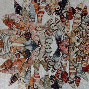 (CreativeWork) Yuin Shells  by Vanessa Barbay. oil-painting. Shop online at Bluethumb.