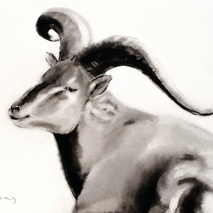 (CreativeWork) Sheep by Soo Beng Lim. drawing. Shop online at Bluethumb.