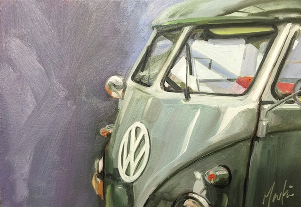 (CreativeWork) Combi by Chris Martin. Oil Paint. Shop online at Bluethumb.
