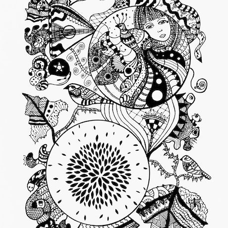 (CreativeWork) Fortune Teller Ed. 3 of 6 by Patricia Concha. Print. Shop online at Bluethumb.