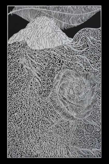 (CreativeWork) The Birth (without frame) by Tusif Ahmad. other-media. Shop online at Bluethumb.