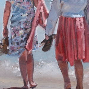 (CreativeWork) Friendship by Claire McCall. Oil Paint. Shop online at Bluethumb.