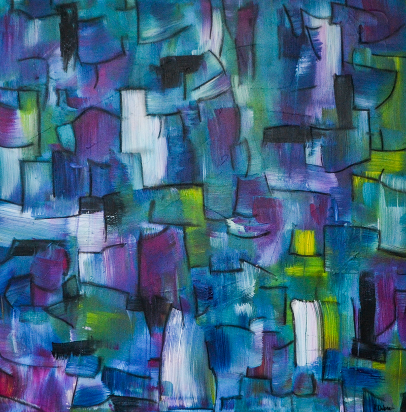 (CreativeWork) Graffiti by Katie Dobson. arcylic-painting. Shop online at Bluethumb.