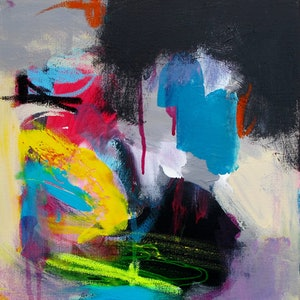(CreativeWork) Abstract #21  by Emma Ball. arcylic-painting. Shop online at Bluethumb.