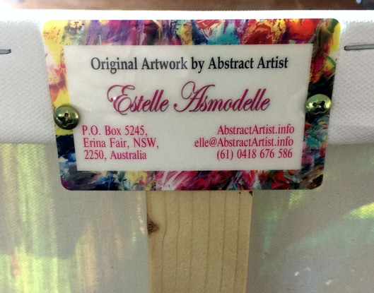 (CreativeWork) Eden lost by Estelle Asmodelle. Acrylic Paint. Shop online at Bluethumb.