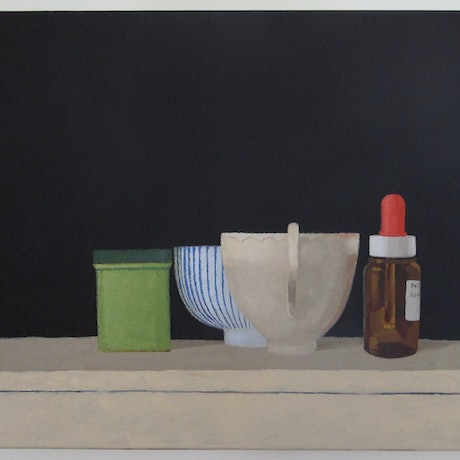 (CreativeWork) Still Life 10 by Shellie Cleaver. Acrylic Paint. Shop online at Bluethumb.