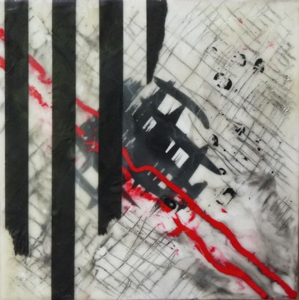(CreativeWork) Industrial Symphony No 6 by Lyndal Kelly. other-media. Shop online at Bluethumb.