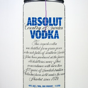 (CreativeWork) Yes Absolut (Ed. 1 of 6) by Campbell La Pun. arcylic-painting. Shop online at Bluethumb.