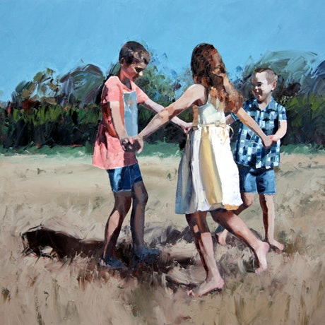 (CreativeWork) Age of Innocence - Limited Edition Giclee Art Print  Ed. 1 of 100 by Claire McCall. Print. Shop online at Bluethumb.