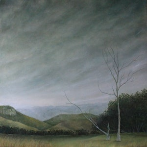 (CreativeWork) Immersed by Julie-anne Armstrong-Roper. oil-painting. Shop online at Bluethumb.
