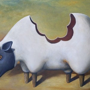 (CreativeWork) The Sheep's Back - Limited Edition Print no. 12/250 by Tank .. print. Shop online at Bluethumb.