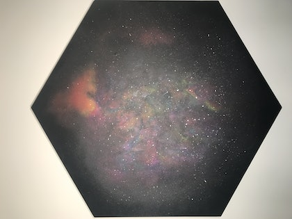 (CreativeWork) Orion by Monica Coppola. arcylic-painting. Shop online at Bluethumb.