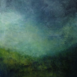 (CreativeWork) Luminescence by Christine Scurr. acrylic-painting. Shop online at Bluethumb.