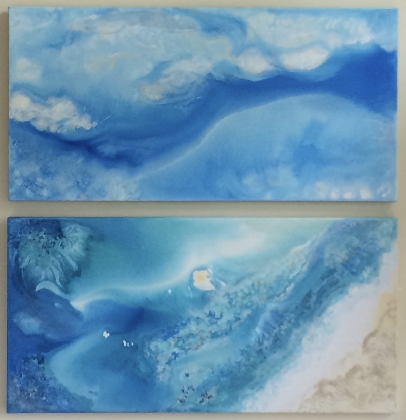 (CreativeWork) Whitsunday Dreaming by Jackie Peach. arcylic-painting. Shop online at Bluethumb.